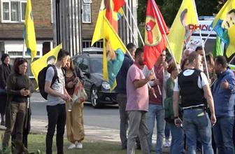 Londra'da PKK yandaşları, Türkler'e saldırdı