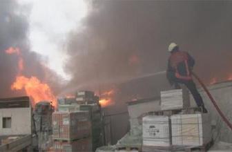 İstanbul Ümraniye'de dev yangın!