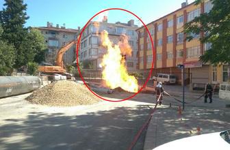 Başkent'te büyük panik! Şiddetli bir patlama oldu