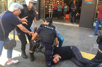 Ankara'da gerginlik polis göstericilere müdahale etti