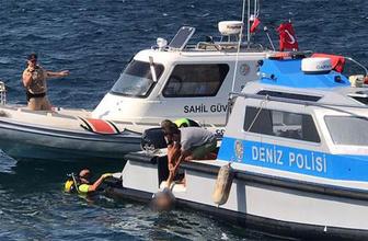 Çanakkale'de denize düşen bir kişi boğuldu