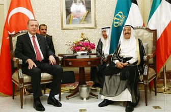 Cumhurbaşkanı Erdoğan, Kuveyt'e gitti