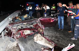 Cezaevinden izinli çıktılar feci kazada öldüler