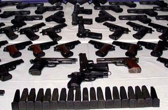 Ayvalık'ta silah kaçaklığı operasyonu
