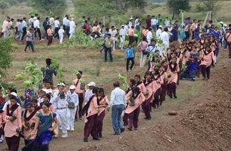 Hindistan'da çevrecilik rekoru kırıldı