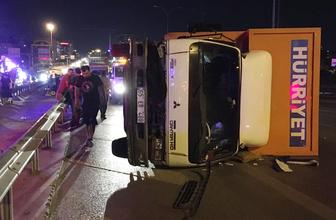 Maltepe'de zincirleme trafik kazası: 4 yaralı