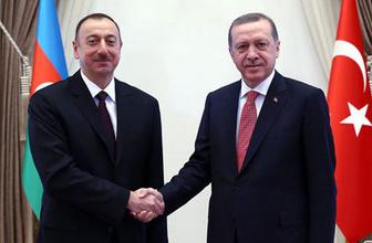 Erdoğan Tarabya'da Aliyev'i ağırladı