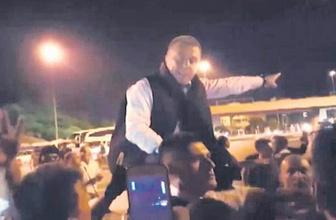 Polisin telsizini gasp eden komutan bakın kim çıktı!