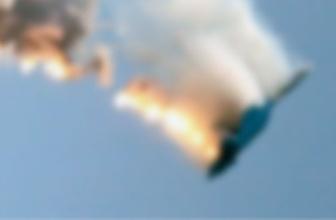 Mısır'da askeri eğitim uçağı düştü