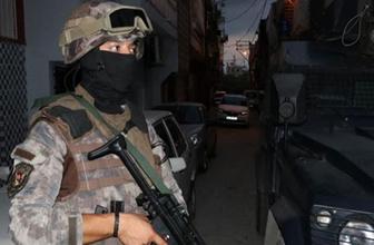 İstanbul'da 7 ilçede PKK operasyonu