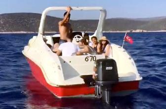 Sürat teknesinde yakalandılar bakın asıl amaçları neymiş
