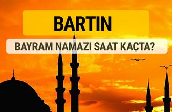Bartın Kurban bayramı namazı saati - 2017