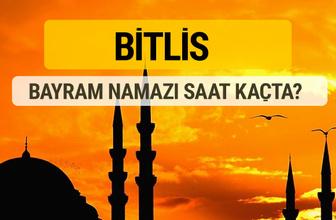 Bitlis Kurban bayramı namazı saati - 2017
