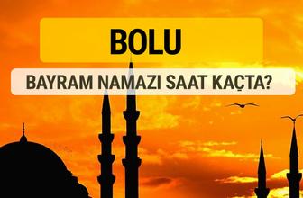 Bolu Kurban bayramı namazı saati - 2017