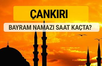 Çankırı Kurban bayramı namazı saati - 2017