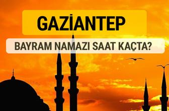 Gaziantep Kurban bayramı namazı saati - 2017
