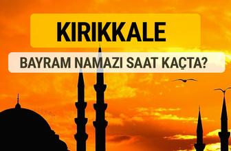 Kırıkkale Kurban bayramı namazı saati - 2017