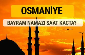 Osmaniye Kurban bayramı namazı saati - 2017