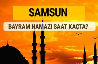 Samsun Kurban bayramı namazı saati - 2017