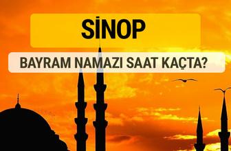 Sinop Kurban bayramı namazı saati - 2017