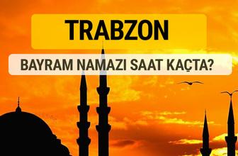Trabzon Kurban bayramı namazı saati - 2017