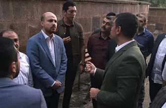 Bilal Erdoğan'dan Ahlat'a ziyaret
