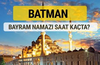 Batman bayram namazı saat kaçta 2 rekat nasıl kılınır?
