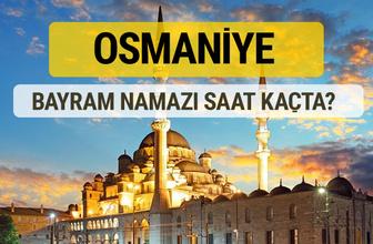 Osmaniye bayram namazı saat kaçta 2 rekat nasıl kılınır?