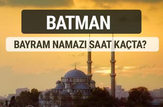 Batman bayram namazı saat kaçta 2017 ezan vakti