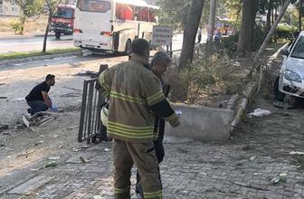 İzmir'de cezaevi aracı geçişi sırasında patlama