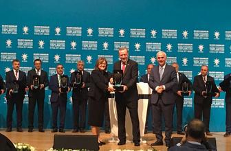 Cumhurbaşkanı Erdoğan'dan Fatma Şahin'e sağlık ödülü