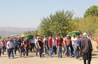 Gaziantep'te gölette boğulan 2 kişinin cenazesi defnedildi