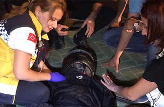 Üç ayrı kazada 3 motosiklet sürücüsü yaralandı!