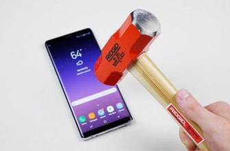 Samsung Galaxy Note 8 dayanıklılık testi