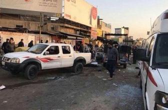 Bağdat'ta arka arkaya patlama! Çok sayıda ölü var