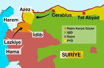 Tel Abyad nerede işte haritası! Türkiye'nin asıl istediği yer