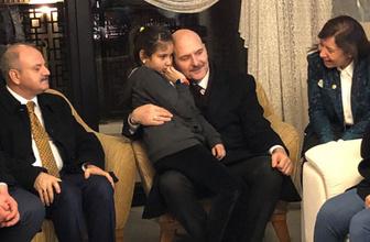 Soylu'dan şehit Arlı'nın ailesine ziyaret