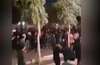 İranlı göstericilerden İslam karşıtı slogan