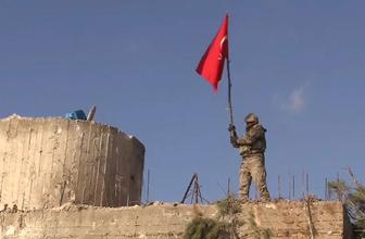 Burseya Dağına Türk bayrağı dikildi
