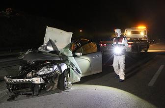 Karabük'te feci kaza: 2 ölü, 3 yaralı!