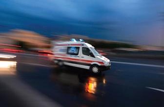 Amasya'da trafik kazası: 1 ölü 1 yaralı