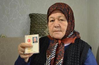 Kimliğinde '00.00.1942' yazılı kadına ilk doğum günü kutlaması