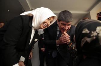 Genel Başkan Yardımcısı Çalık Mavi Ev'i ziyaret etti