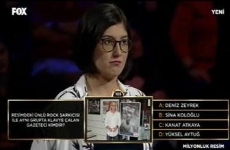 Hangi ünlü Fox'un yarışmasında soru oldu!