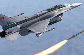 TSK'dan Kuzey Irak'a hava harekatı hepsi imha edildi