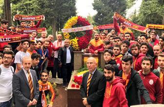 Ali Sami Yen mezarı başında anıldı!