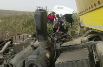 Mardin'de feci kaza! Ölü ve yaralılar var