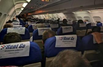 Yolcu uçağı Diyarbakır'a zorunlu iniş yaptı