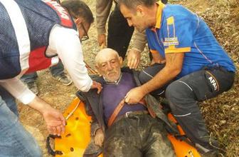 Alzheimer hastası yaşlı adam kayıptı bakın nerede bulundu