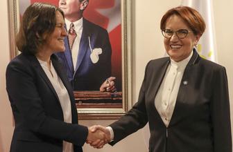 Akşener AP Türkiye Raportörü Piri ile görüştü